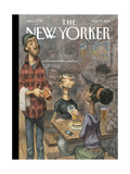 The New Yorker Cover - November 3, 2014 Premium Giclee Print by Peter de Sève