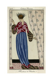 Evening Coat 1913 Giclee Print by Georges Barbier