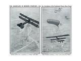 Aeroplane in Modern Warfare Giclee Print by G.h. Davis