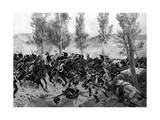 Battle of Vittoria 1813 Giclee Print by Henri Dupray