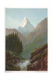 The Matterhorn Giclee Print by Helga von Cramm