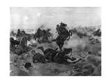 Boer, Battle of Tugela Giclee Print by Henri Dupray
