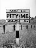 'Pity Me' Hamlet Sign Photographic Print by Fred Musto