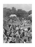 Children's Coronation Fete in Victoria Park, 1902 Giclee Print by George Soper