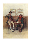 Pickwick Papers, 2 Weller Giclee Print by Frederick Barnard