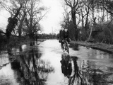 Flooded Country Lane Photographic Print by Fred Musto