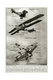 German Aircraft 1918 Giclee Print by Geoffrey Watson