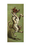 Mother Hubbard, Dancing Giclee Print by Harrison Weir