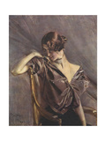 Cleo de Merode, Ilz, 1901 Giclee Print by Giovanni Boldini