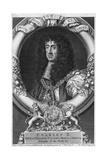 Charles II (Vertue Eng.) Giclee Print by George Vertue