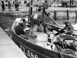 Cornish Fishermen Photographic Print by Fred Musto