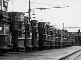 Tram Graveyard Photographic Print by Fred Musto
