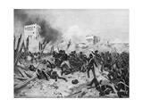Taking of Badajoz 1812 Giclee Print by Henri Dupray
