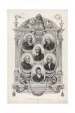 Shakespeare Commentators Giclee Print
