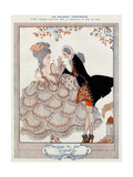 Gallant Pretense! Giclee Print by Georges Barbier