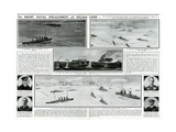 Naval Engagement Off Heligoland Giclee Print by G.h. Davis