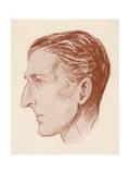 Sir Philip Gibbs Giclee Print by Helen Wilson