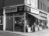 London Newsagents 1970s Photographic Print by Gill Emberton
