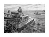 Chunnel, Lanos, Lift Giclee Print by Henri Lanos