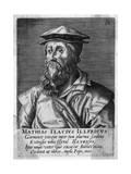 Mathias Flacius Illyr. Giclee Print by Hendrik Hondius