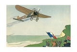 Louis Bleriot Air Crossing of the English Channel Giclee Print by Geo Ham