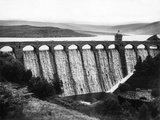 Elan Valley Dam Photographic Print by Fred Musto