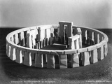 Stonehenge Reconstructed Photographic Print by H Brooks