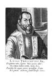 Lucas Trelcatius Younger Giclee Print by Hendrik Hondius