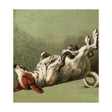 Mother Hubbard, Dog Dead Giclee Print by Harrison Weir