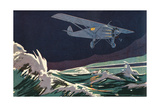 Lindbergh (Ham) Giclee Print by Geo Ham