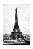 Paris, France - La Tour Eiffel Giclee Print by H. Thiriat