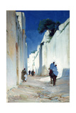 Tangiers City Wall Giclee Print by George Murray