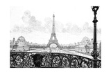 Paris, France - La Tour Eiffel Giclee Print by Gaston Coindre