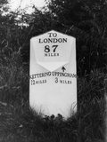 London Milestone Photographic Print by Fred Musto