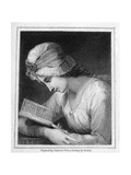 Honora Edgeworth Giclee Print by George Romney