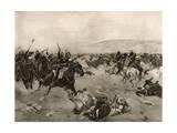 Balaclava, Heavy Brigade Giclee Print by Henri Dupray