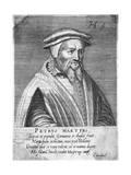 Petrus Martyr Giclee Print by Hendrik Hondius