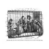 The Old Curiosity Shop, Kit Behind Bars Giclee Print by Hablot Browne