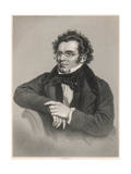 Franz Schubert Giclee Print by H Adlard