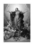 Mary Ascends to Heaven Giclee Print by Guido Reni