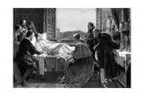 Raffaello's Deathbed Giclee Print by H O'Neil