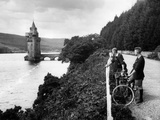 Laker Vyrnwy Tower Photographic Print by Fred Musto