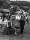 Llangollen Eisteddfod Photographic Print by Fred Musto