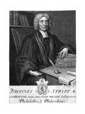 John Strype Giclee Print by George Vertue