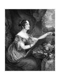 Emily Lady Pakenham Giclee Print by George Hayter