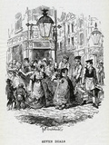 Seven Dials, Slums, 1836 Photographic Print by George Cruikshank
