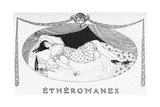 A Comatose Etheromane Giclee Print by Gerda Wegener
