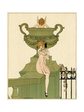 Cupid Finds Victim 1914 Giclee Print by Gerda Wegener
