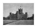 England, Highclere Castle Giclee Print by H. Gedan
