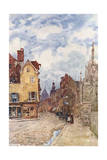 France, Troyes 1907 Giclee Print by Herbert Marshall